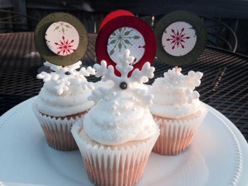 Snowflake Cupcakes 3
