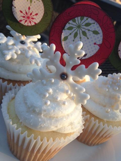 Snowflake Cupcakes 4