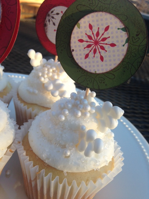 Snowflake Cupcakes 5